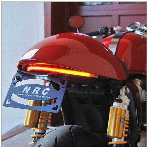 New Rage Cycles Fender Eliminator Kit for 2016-2017 Triumph Thruxton 1200/R | US License Plate