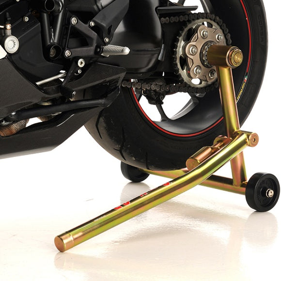 Pit Bull Hybrid One Armed Rear Stand for Triumph w/ Single Sided Swingarms (Left Pin Only)