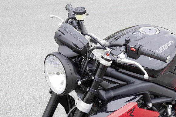 LSL Headlight Bracket For 2013 Triumph Street Triple - Work Only w.The LSL 6.5