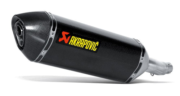 Akrapovic Slip-On Line (Carbon) Exhaust System For 2015+ Honda CBR300R [S-H3SO3-RC]