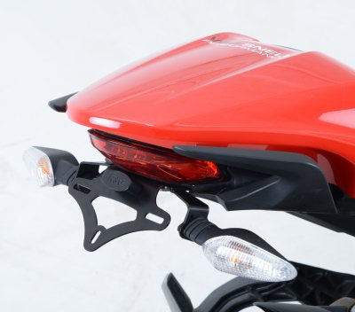R&G Racing Tail Tidy / Fender Eliminator Kit for 2014-2015 Ducati Monster 821/1200 [LP0166BK]