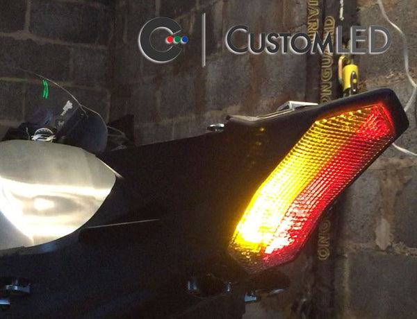 Custom LED Blaster-X Integrated LED Tail Light Complete Unit 2015 Yamaha YZF R1/R1M