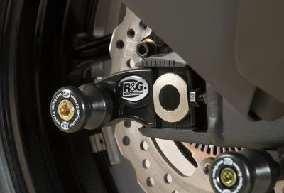 R&G Racing Axle Slider / Swingarm Spools for 2007-2012 Kawasaki ZX-6R, 2013 ZX-6R 636