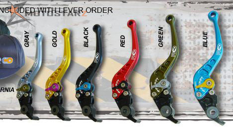 CRG Roll-A-Click Spectrum Levers (Single Lever)