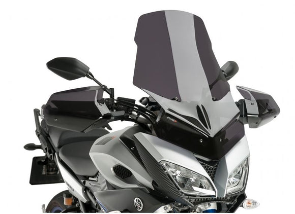 Puig Touring Windscreens For 2015-2016 Yamaha FJ-09 / MT-09 Tracer | Dark Smoke