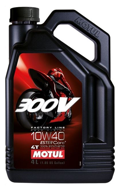 Motul 300V 4T 100% Synthetic Racing Motor Oil | 4L