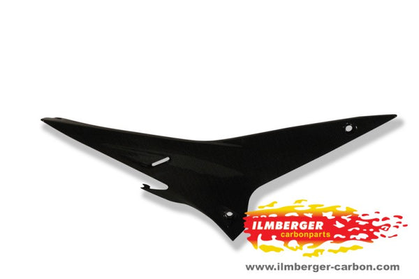 ILMBERGER Carbon Fiber Underseat Panel Right Side 2009-2011 Aprilia RSV4 / R