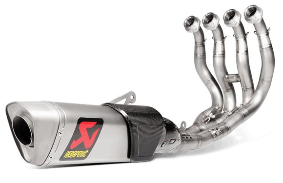 Akrapovic Evolution Line Kit (Titanium) Full Exhaust System for 2015 Yamaha YZF R1/R1M [S-Y10E3-APT]