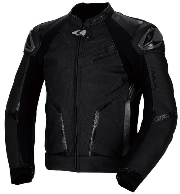 RS TAICHI GMX RSJ832 Arrow Leather Jacket (Black)