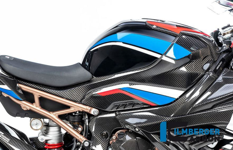 ILMBERGER Carbon Fiber Tank Side Panel (Right) Full Version for Street '19-'20 BMW S1000RR