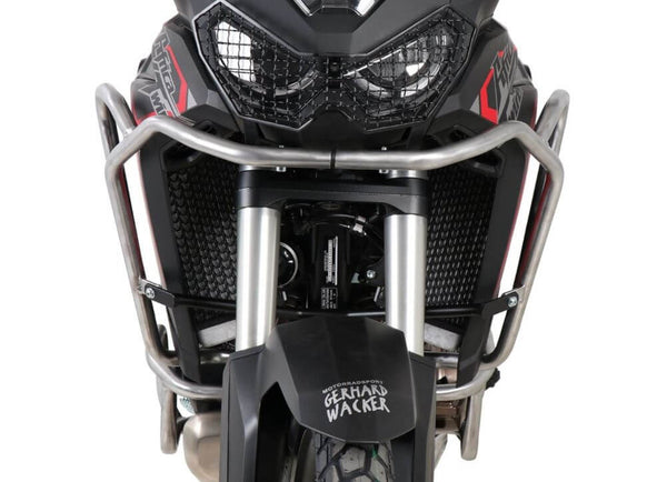 Hepco & Becker Tank Guard for '19-'20  Honda CRF1100L Africa Twin - Stainless Steel