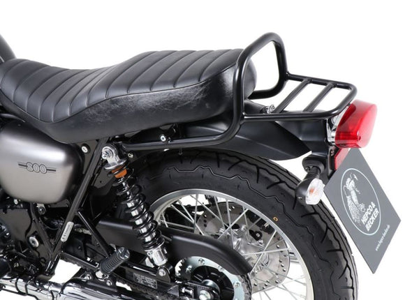 Hepco & Becker Rear Rack (Not For Top Cases) '19+ Kawasaki W800 Street/ Cafe - Black
