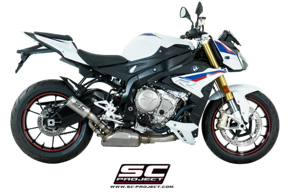 SC Project CR-T Slip-On Exhaust 2017-2018 BMW S1000R ...