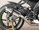 M4 Standard Polished Slip-on Exhaust System for 2008-2010 Kawasaki ZX10R