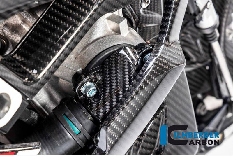 ILMBERGER Carbon Fiber Water Pump Cover for Street/ Racing '19-'20 BMW S1000RR