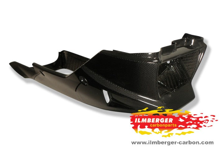 ILMBERGER Carbon Fiber Belly Pan Long Version 2011-2012 Triumph Speed Triple / R 1050