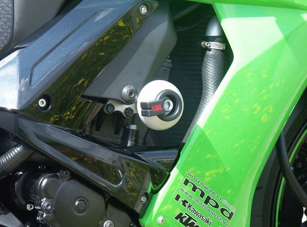 Spiegler LSL Frame Slider Kit for 2008-2010 Kawasaki ZX10R