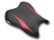 LuiMoto Raven Edition Seat Cover 06-07 Yamaha YZF-R6 - Cf Black/Cf Red