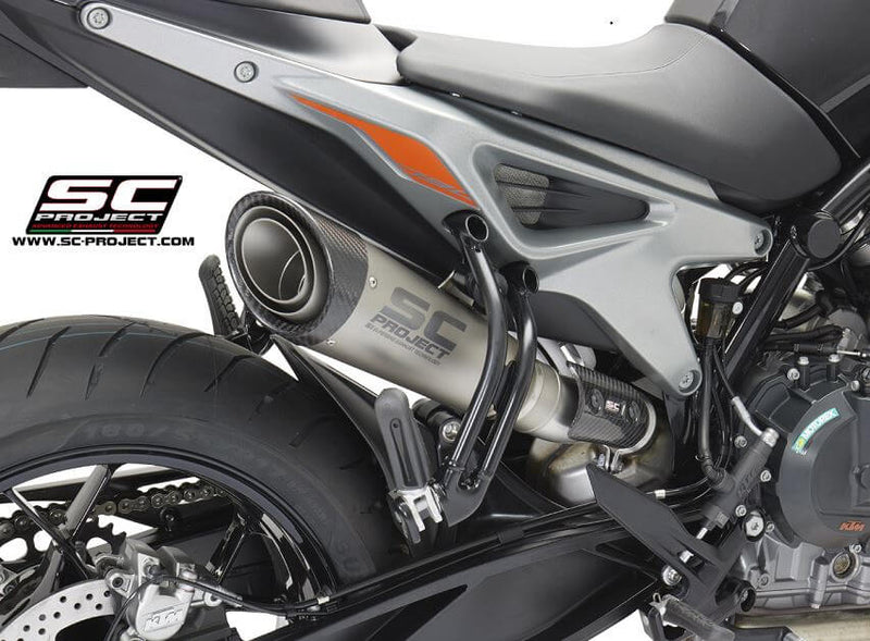 SC Project S1 Titanium Slip-on Exhaust 2018- KTM 790 Duke