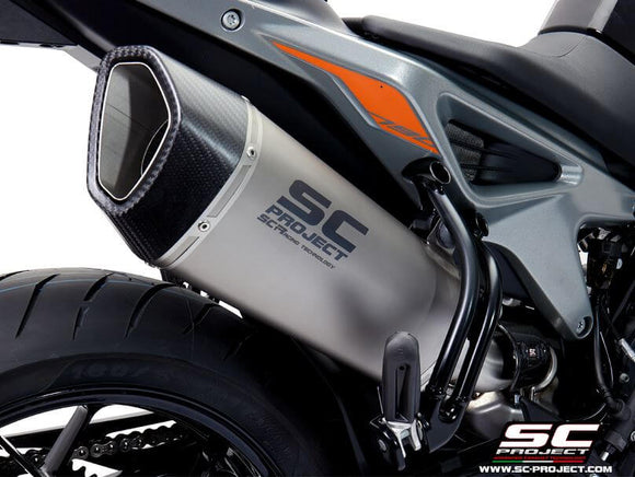 SC Project SC1-R Slip-on Exhaust 2018- KTM 790 Duke