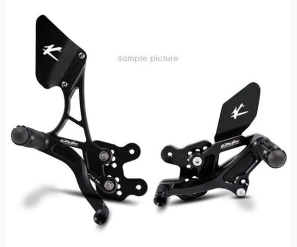 Valter Moto Type 1.5 Adjustable Rearsets 2013-2016 Triumph Street Triple/R