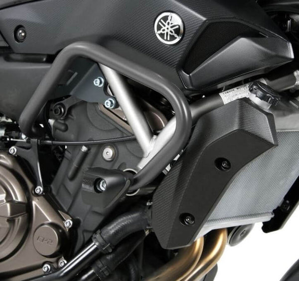 Hepco & Becker Engine Guard w.Sliders '14-'17 Yamaha MT-07 / FZ-07