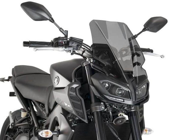 Puig Naked New Generation Touring Windscreens 2017-2018 Yamaha FZ-09 / MT-09