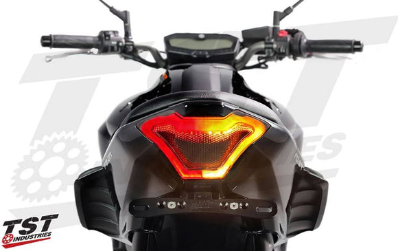 TST Industries LED Integrated Tail Light for '14-'17 Yamaha FZ-07, '15-'19 YZF R3