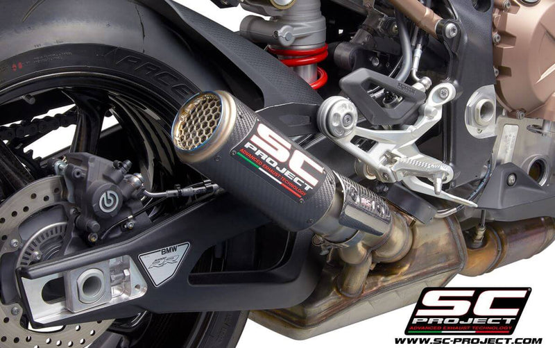 SC Project CR-T Slip-On Exhaust 2019+ BMW S1000RR