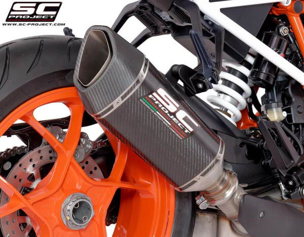 SC Project SC1-R Slip-on Exhaust System '17-'18 KTM 1290 Superduke R, '16-'18 1290 Superduke GT