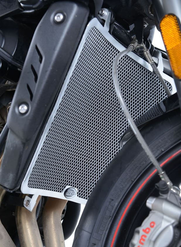 R&G Racing Radiator Guard 2017-2018 Triumph Street Triple/R/S/RS 765