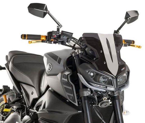 Puig Naked New Generation Sport Windscreens 2017-2018 Yamaha FZ-09 / MT-09