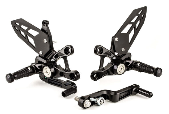 Gilles Tooling Adjustable Rearsets 2017-2018 Suzuki GSX-R1000/R