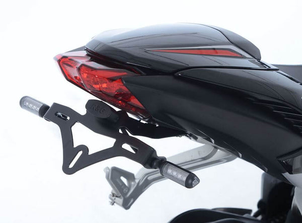 R&G Tail Tidy / License Plate Holder for 2013-2018 Triumph Daytona 675 & Street Triple 675/765