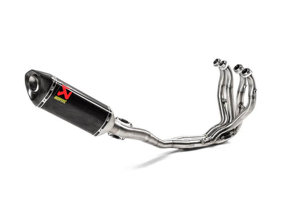 Akrapovic Racing Line Carbon Full Exhaust '09-'19 Kawasaki ZX6R, '13-'19 ZX6R 636