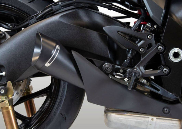 M4 GP19 Black Slip-On Exhaust 2020+ Suzuki Katana