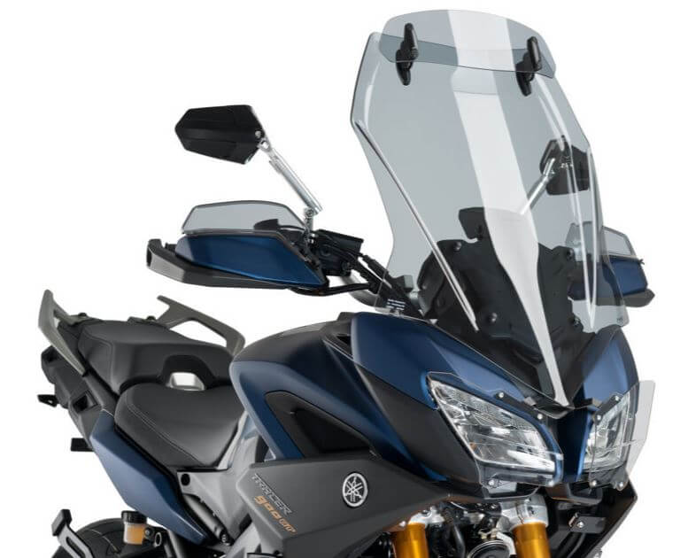 Puig Touring Windscreen with Visor '18-'19 Yamaha Tracer 900 GT