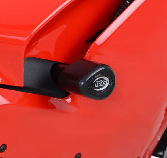 R&G Racing Aero Crash Protectors Kit 2017-2018 Ducati Panigale V4/S/Speciale | Drill Kit