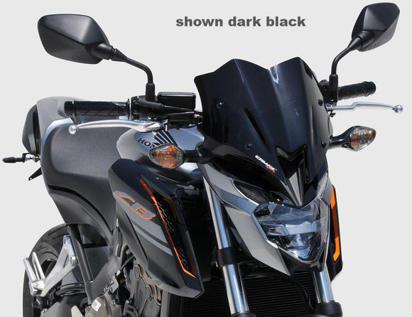 Ermax 31cm Sport Nose Screens / Windscreens for 2017-2018 Honda CB650F