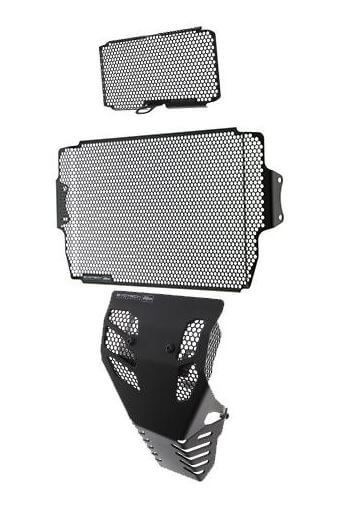 Evotech Performance Radiator, Oil Cooler & Engine Guard Set 2018+ Ducati Multistrada 1260/S/D/Air/Pike Peaks