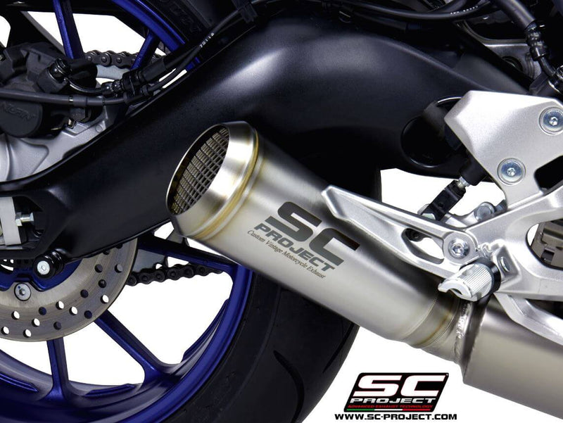 SC Project 70s Stainless 3-1 Full Exhaust 2017-2019 Yamaha MT-09/FZ-09