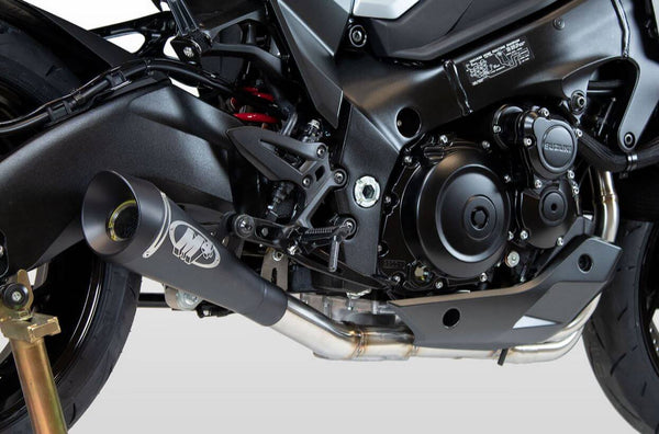 M4 GP19 Black Full Exhaust System 2020+ Suzuki Katana