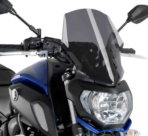 Puig Naked New Generation Touring Windscreen 2018+ Yamaha MT-07
