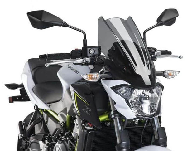 Puig Naked New Generation Touring Windscreens 2017-2018 Kawasaki Z650