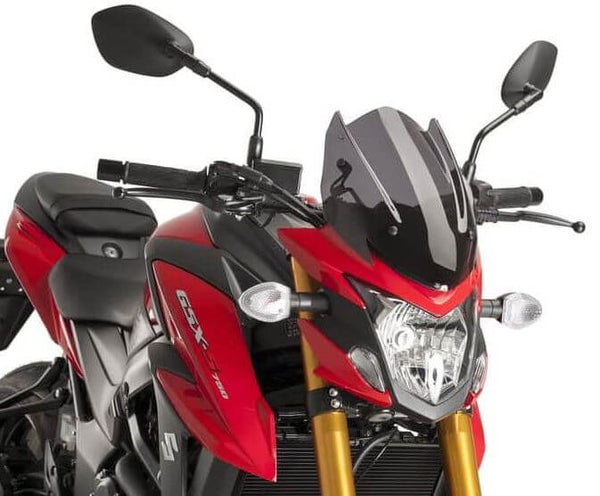 Puig Naked New Generation Sport Windscreens 2017-2018 Suzuki GSX-S750