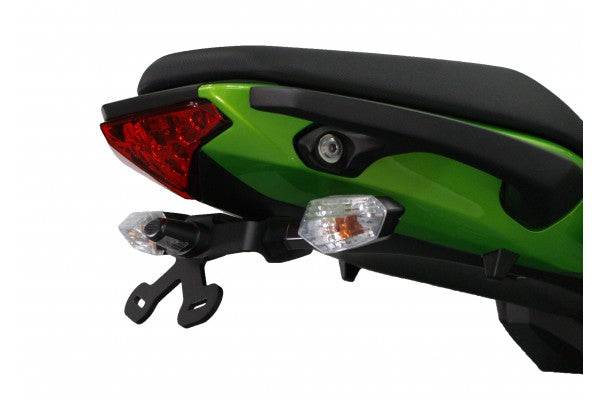 Evotech Performance Tail Tidy / License Plate Holder 2012-2016 Kawasaki ER-6n/f, Ninja 650n/f