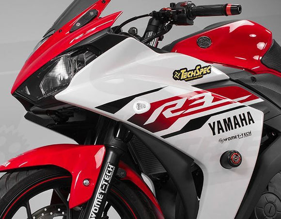 TST Industries HALO-GRT Front LED Flushmount Turn Signals 2015-2018 Yamaha R3