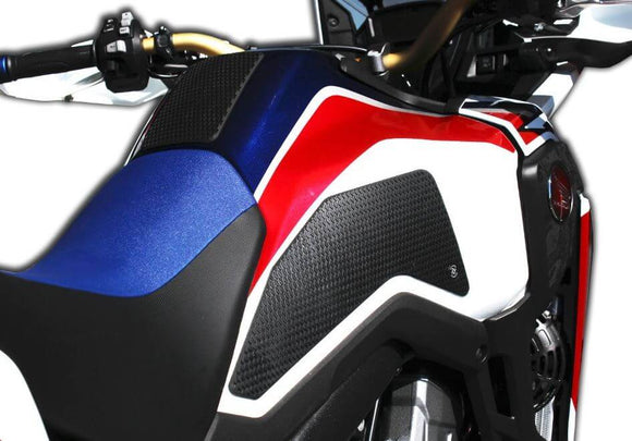 TechSpec Snake Skin Tank Grip Pads 2016-2018 Honda CRF1000L Africa Twin | Red/Whte/Blue Paint