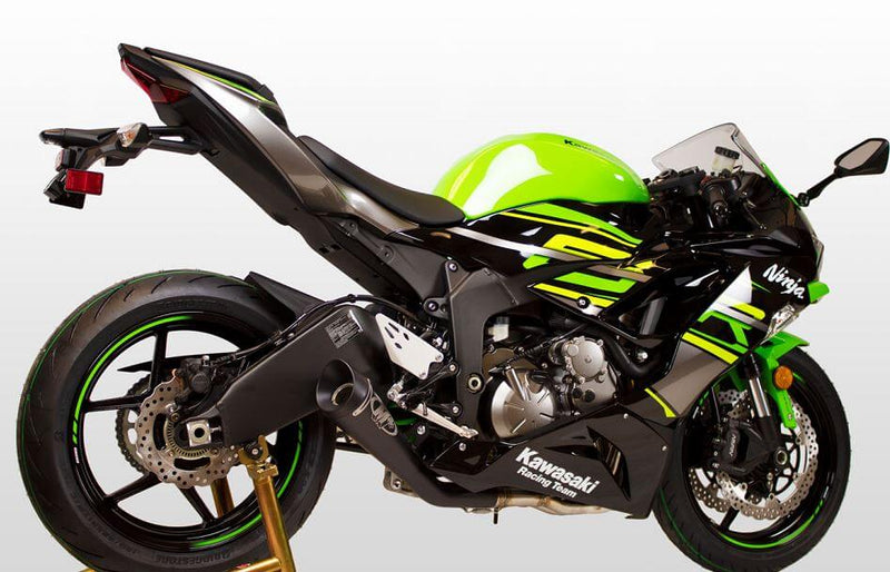 M4 GP19 Black Stainless Full Exhaust System '09-'20 Kawasaki ZX6R