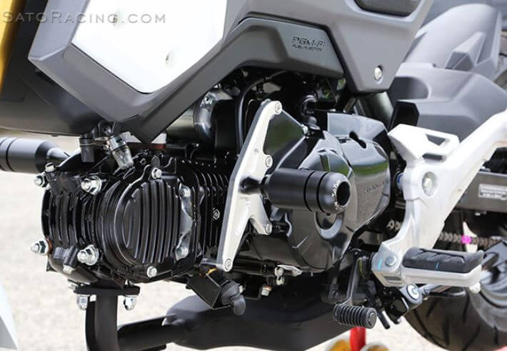 Sato Racing Frame Sliders 2017-2019 Honda Grom